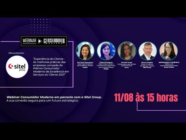 As melhores práticas das empresas campeãs do Prêmio CM 2021: Webinar em parceria com Sitel Group