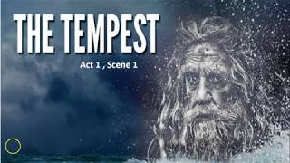 The Tempest - Act 1, Scene 1