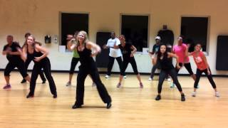 "Darci Serr Zumba/ Dance Fitness Choreography: ""Hit the Lights"" Jay Sean"