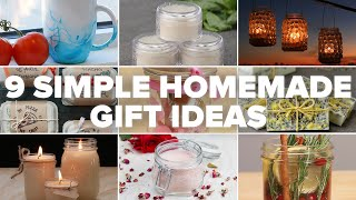 9 Simple Homemade Gift Ideas