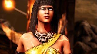 Mortal Kombat X - Tanya All Interaction Dialogues