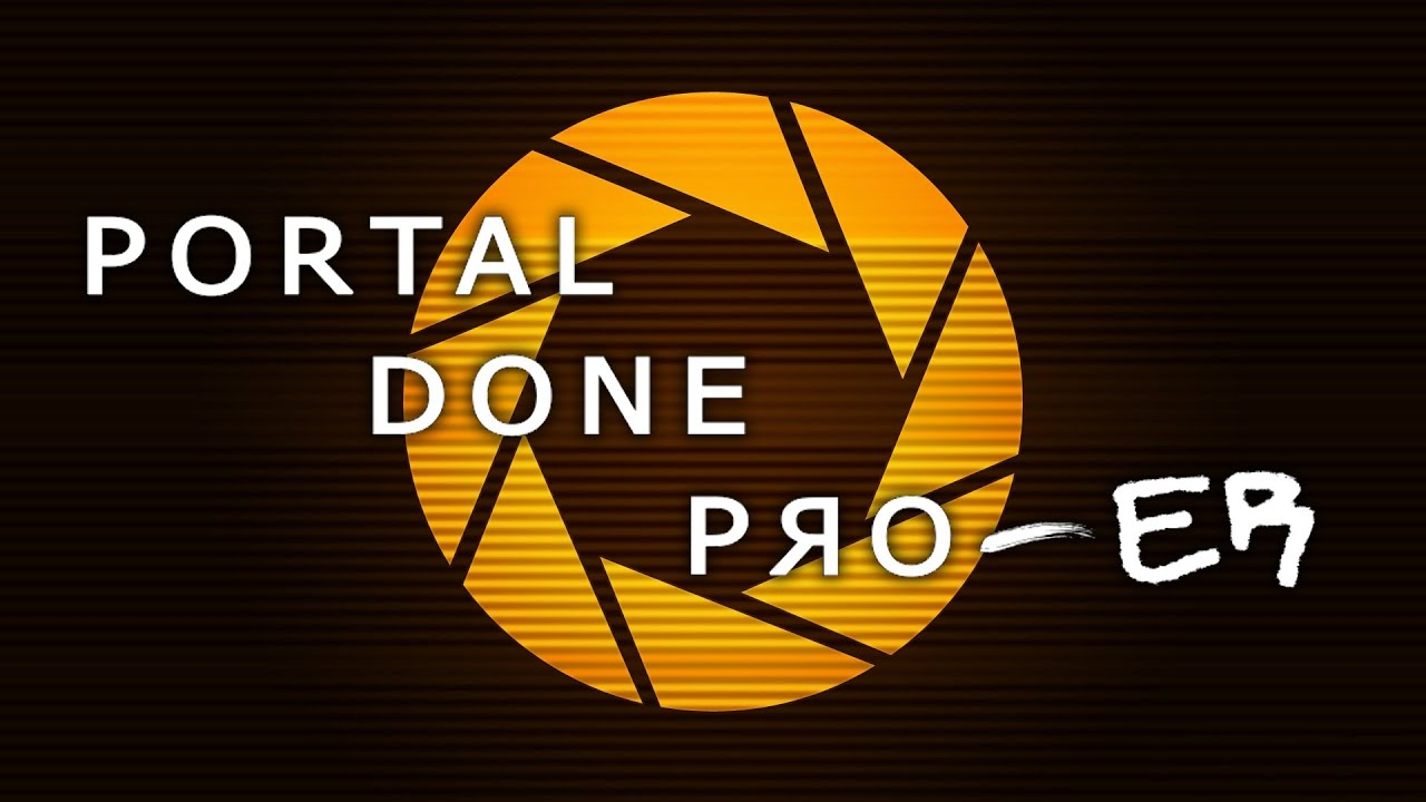 Holy Crap, These Guys Finished Portal In Eight Minutes