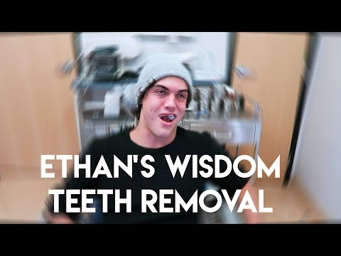 ETHAN GETS HIS WISDOM TEETH REMOVED!!