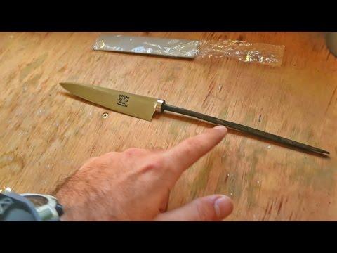 Como se fabrica un cuchillo artesanal - Pablo Imhoff