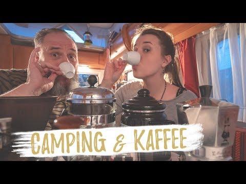 CAMPING UND KAFFEE?   Perkolator, French Press & Co.