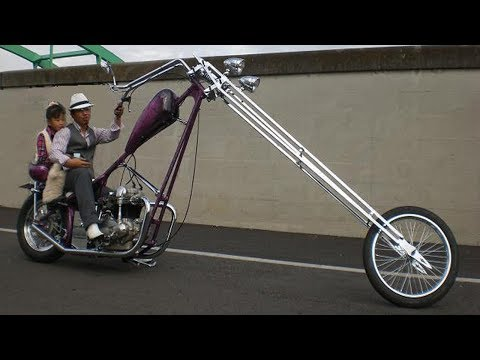 Amazing Custom Long Chopper Motorcycles