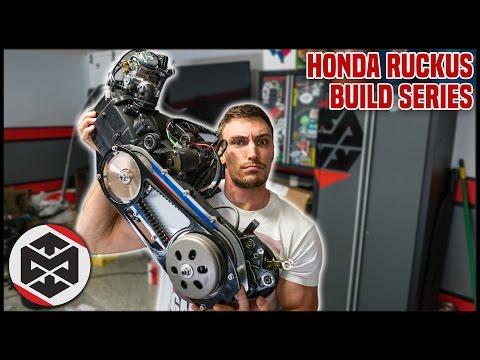 tuning scooter GY6 Honda Ruckus YouTube - смотреть онлайн на