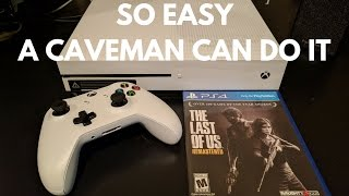 How to Play a PS4 Game on an Xbox One S!! | EASY Tutorial