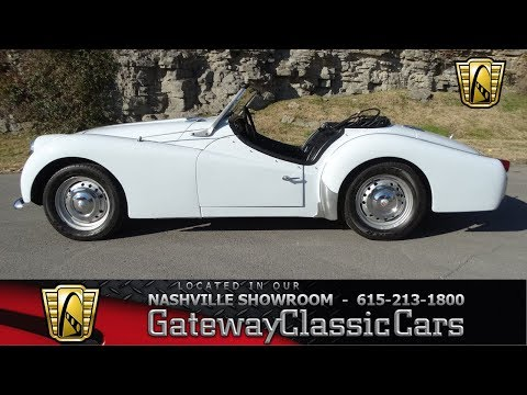 Video of 1960 TR3 located in Tennessee - MGPP