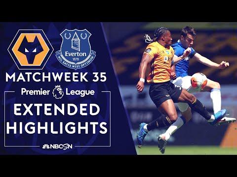 Wolves v. Everton | PREMIER LEAGUE HIGHLIGHTS | 7/12/2020 | NBC Sports