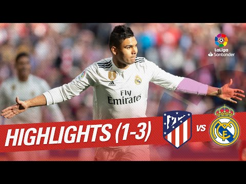Download Highlights Atletico de Madrid vs Real Madrid (1-3) HD Mp4 3GP Video and MP3