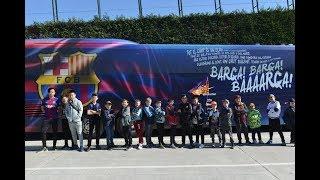 """Тренируйся в школе """"Барсы"""" и передвигайся на автобусе первой команды знаменитого клуба"""