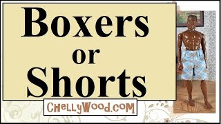 Free Doll Clothes Patterns: GI Joe Or Broad Ken Boxers Or Summer Shorts