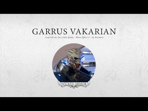 Amazing Garrus Vakarian Mass Effect Costume IRL (VID)