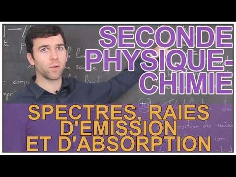 Spectres, Raies D'émission Et D'absorption - Physique-Chimie - Seconde - Les Bons Profs Mp3