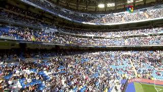 Calentamiento Real Madrid vs RCD Espanyol de Barcelona
