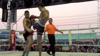 Eric Bradach (Tiger Muay Thai) Vs Dennis (Kru Chris Gym) @ Lat Krabang, Bangkok 11/3/2014