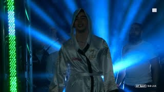 Mick Conlan Walks Out For First Pro Fight In Home Town Of Belfast
