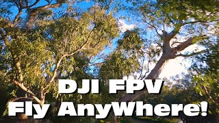 DJI FPV Flight Review GoPro hero 8 SuperView 1080p 60 SuperSmooth