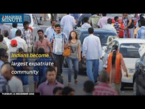 Indians become largest expatriate community
