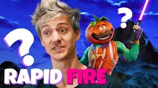 Ninja Responds To 50 Rapid Fire Questions From IGN