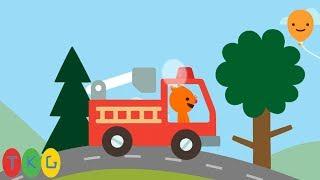 Xe Cứu Hỏa - Fire Truck | Road Trip | TopKidsGames (TKG)