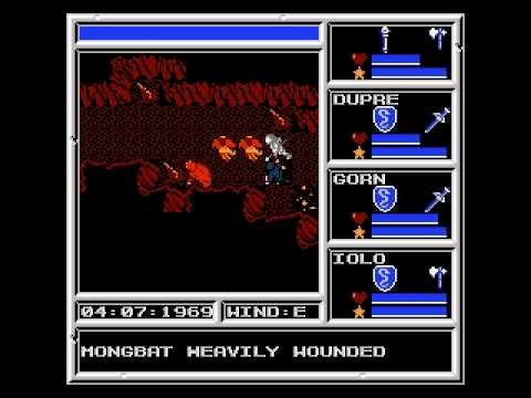 nes ultima warriors of destiny cool rom