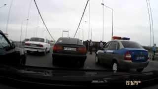 ДТП на мосту ВКО г, СЕМЕЙ