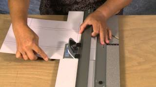 How To Cut And Offset Corner Mat With LOGAN Mat Cutting Equipment