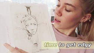 Reviewing My High School Art