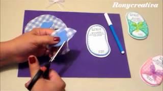 DIY Baby Shower invitation - Diy new baby/baby shower card