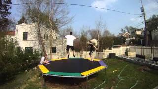 Double Backflip Fail