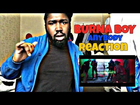 Burna Boy - Anybody REACTION!!!
