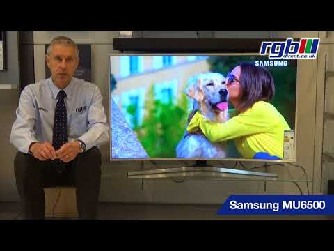 Samsung MU6500, UE49MU6500, UE55MU6500, UE65MU6500, Smart Certified Ultra HD 4K Curved LED TV