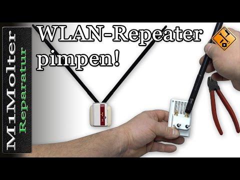 WLAN Repeater - externe Antenne anbauen von M1Molter