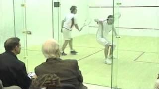 Squash Exhibition Jonathan Power Vs. Gavin Jones Hardball On A Wide Court 2008 Merion Cricket Club