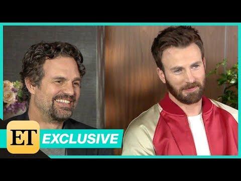 Avengers: Endgame: Mark Ruffalo and Chris Evans (FULL INTERVIEW)