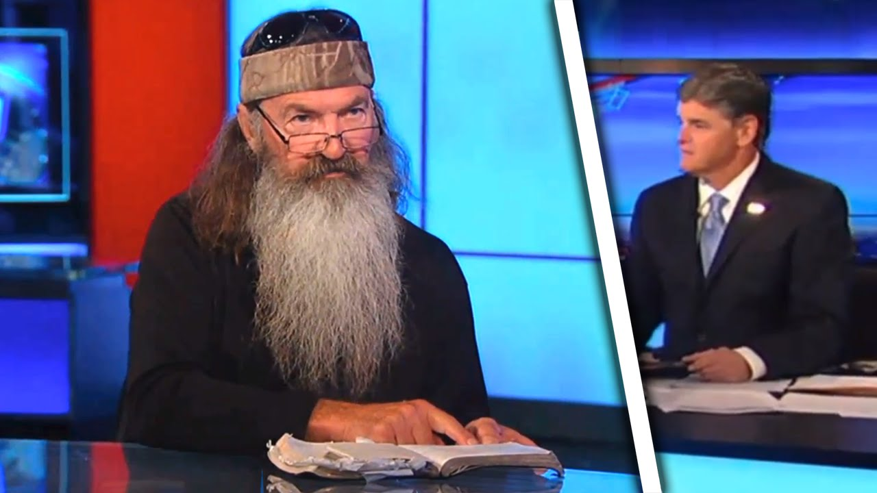 Duck Dynasty Star Solves ISIS On Hannity With Magic Book thumbnail