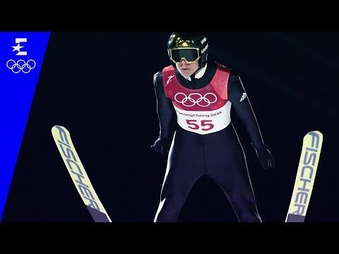 Ski Jumping   Men's Normal Hill Individual Highlights   Pyeongchang 2018   Eurosport
