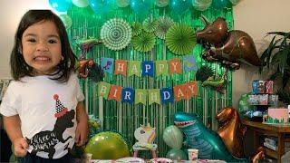 QUARANTINE BIRTHDAY IDEAS FOR KIDS | DINOSAUR BIRTHDAY | DIY BIRTHDAY FOR TODDLER