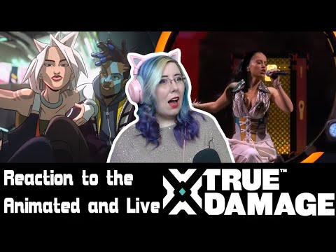 REACTION: True Damage - GIANTS (ft. Becky G, Keke Palmer, SOYEON, DUCKWRTH, Thutmose) LOL