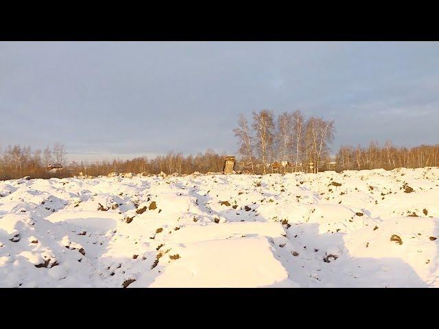 К садоводствам свозят грязный снег