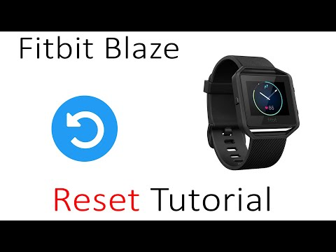 How To Reset FitBit Blaze Fast and Easy - смотреть онлайн на