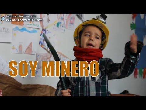 Soy minero interpretado por alumnos de 1º de Educación Primaria