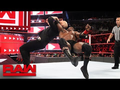 Bobby Lashley vs. Constable Baron Corbin: Raw, Aug. 20, 2018