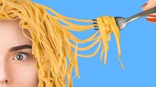ТОП 10 удивительных идей с едой / Фуд-арт челлендж!