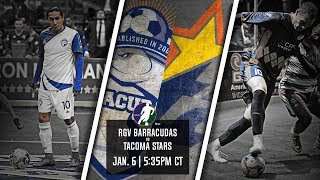 RGV Barracudas vs Tacoma Stars