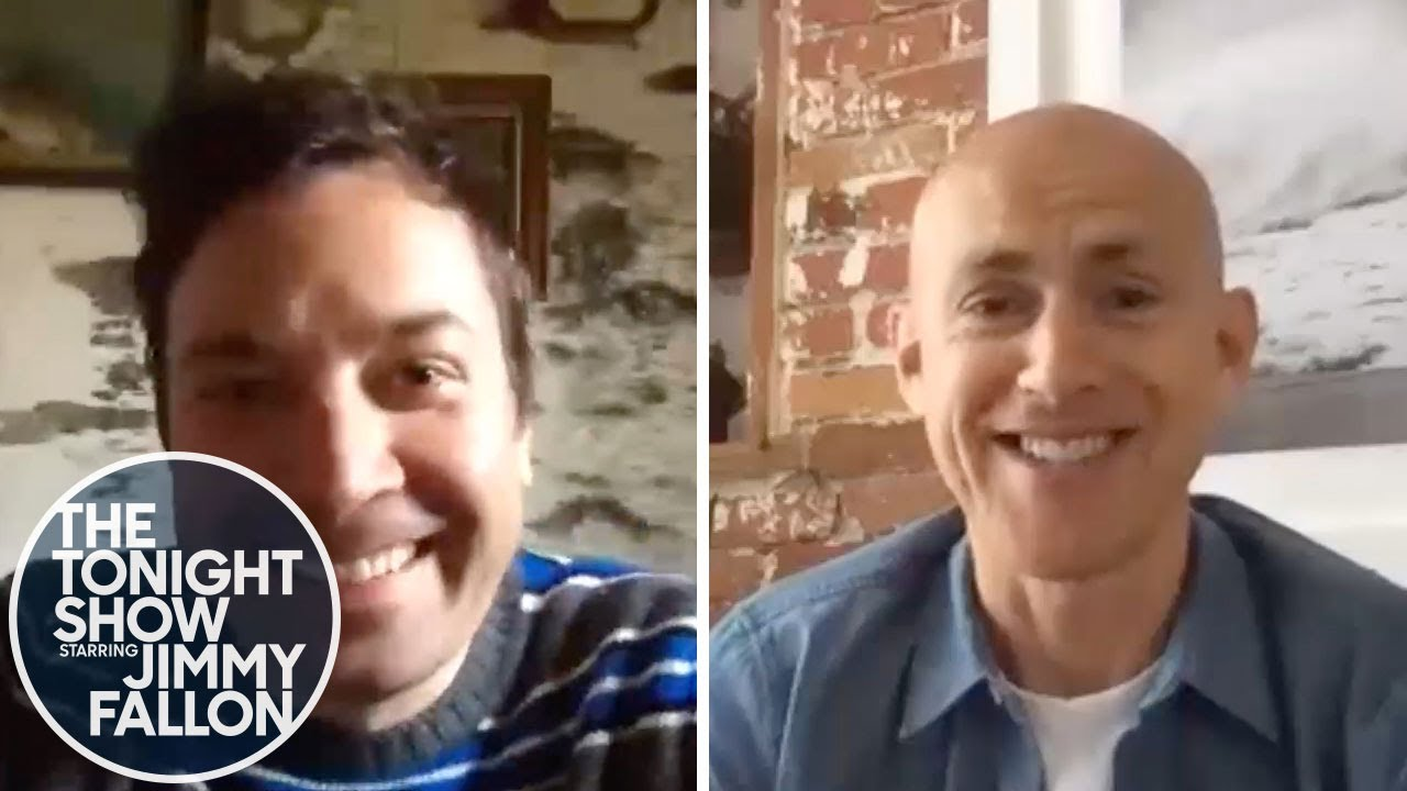 Andy PuddicombeGuides Jimmy Through a Take 10 Headspace Meditation thumbnail