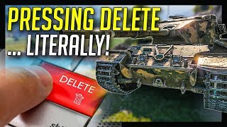 ► 183 and DELETE Button Challenge! - World of Tanks FV215b 183 Gameplay