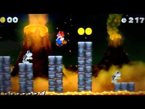 New Super Mario Bros 2 Walkthrough - World 6-Ghost House & Secret